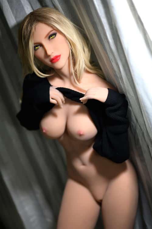 170cm/5.57ft Cute Boobs Sex Dolls-Cybill