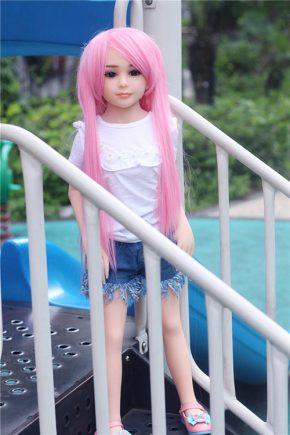 Flat Chested Sexy Fuck Mini Sex Dolls (13)