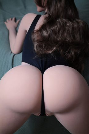 Curly Haired Real Life Human Sex Doll (10)