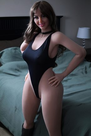 Curly Haired Real Life Human Sex Doll (2)