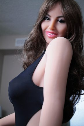 Curly Haired Real Life Human Sex Doll (6)