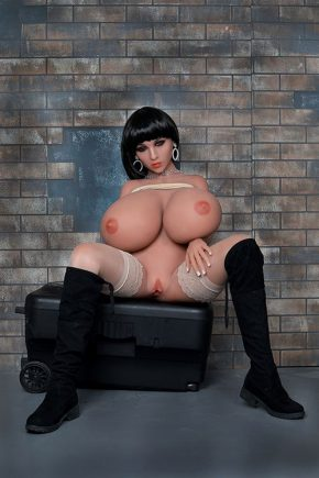 Guy Fucks Real Huge Tit Sex Doll (6)