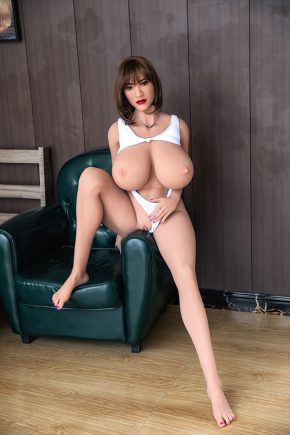 Real Fuck Big H-Cup Boobs Sex Doll (2)
