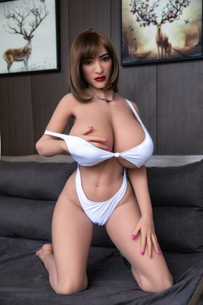 Real Fuck Big H-Cup Boobs Sex Doll (9)